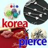 韓国で大人気♪ボディピアス