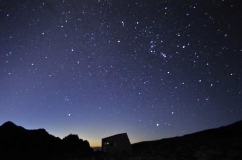 夜空のイメージ画像