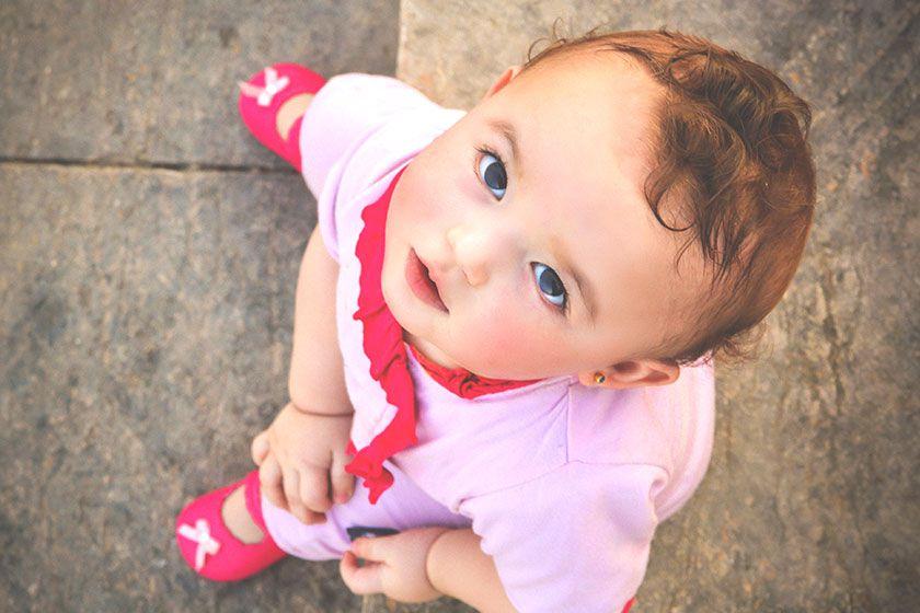 赤ちゃんのピアス3