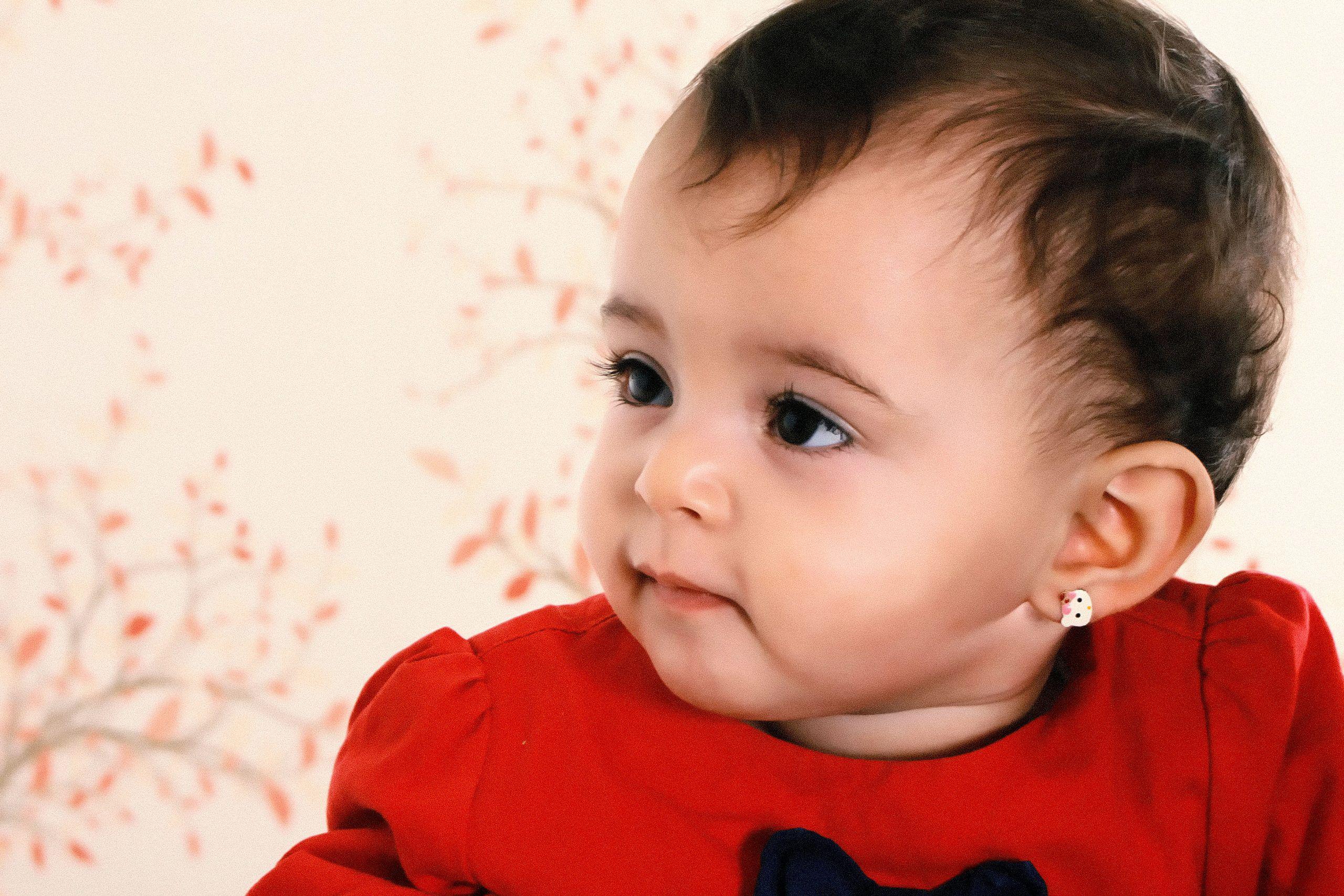 赤ちゃんのピアス1