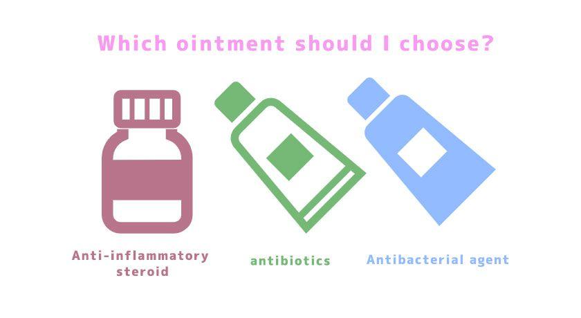 軟膏の選び方